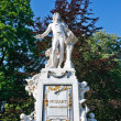 Stock Photo: Statue of Wolfgang Amdeus Mozart
