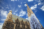 St. Stephan cathedral in Vienna — Foto Stock