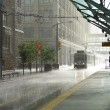 Stock Photo: Rain in Calgary
