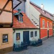 Golden Lane in Prague Castle — Stock Photo