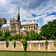 Notre Dame de Paris - Foto Stock