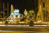 Plaza de Cibeles in Madrid — Stock Photo