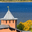 Stock Photo: White tower of Nizhny Novgorod Kremlin, Russia