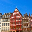 Old traditional german buildings - Stock Photo