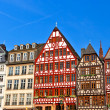 Old traditional german buildings — Stock Photo