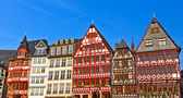 Old traditional german buildings — Foto de Stock