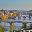 View on Prague at sunset — Stock Photo #6463380