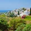 Spanish landscape, Nerja, Costa del Sol, Spain — Stock Photo