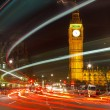 London at night, UK — Stock Photo