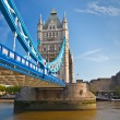Tower Bridge in London, UK — Stock Photo #6717076