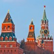 Towers of Moscow Kremlin — Stock Photo