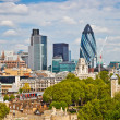 View on city of London — Stock Photo #6717093