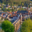 Heidelberg at spring, Germany — Stock Photo
