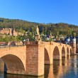 Bridge in Heidelberg, Germany - Stock Photo