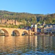 Stock Photo: Bridge in Heidelberg, Germany