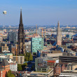 View on Hamburg from Michel — Stock Photo #6717255