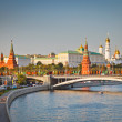 Moscow kremlin at sunset — Stock Photo #6717261
