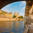Seine river, Paris, France — Foto Stock