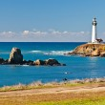 Pigeon Point Lighthouse on California coast — Stock Photo #6717327