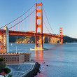 Golden Gate Bridge at sunset, San Francisco — Stock Photo #6717338