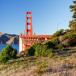 Golden Gate Bridge at sunset, San Francisco — Stock Photo #6717341
