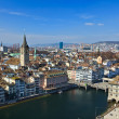 Royalty-Free Stock Photo: View on Zurich, Switzerland