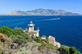 Old lighthouse, Poros, Greece — Stock Photo