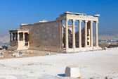 Erechtheum temple in Acropolis, Athens — Stock Photo