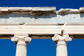 Detail of antique greek temple in Athens — Stock Photo