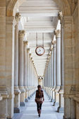 Colonnade in Karlovy Vary, Czech Republic — Stock Photo