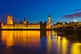 Big Ben and Houses of Parliament in London — Stock Photo