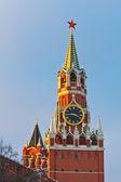 Spasskaya tower de moscou kremlin — Photo