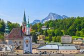 ザルツブルグの旧市街、オーストリア — ストック写真