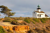 Point Loma Lighthouse in Cabrillo National Park, San Diego — Stock Photo