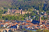 View on Heidelberg at spring, Germany — Stock Photo