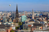 View on Hamburg from Michel — Stock Photo