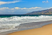 Pacfic ocean coast, CA, USA — Stock Photo