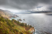 Pacific coast in Big Sur, California, US — Stock Photo