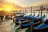 Amanecer en venecia — Foto de Stock