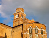 Church of Santa Maria Gloriosa dei Frari, Venice — Stock Photo