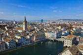 View on Zurich, Switzerland — Stock Photo