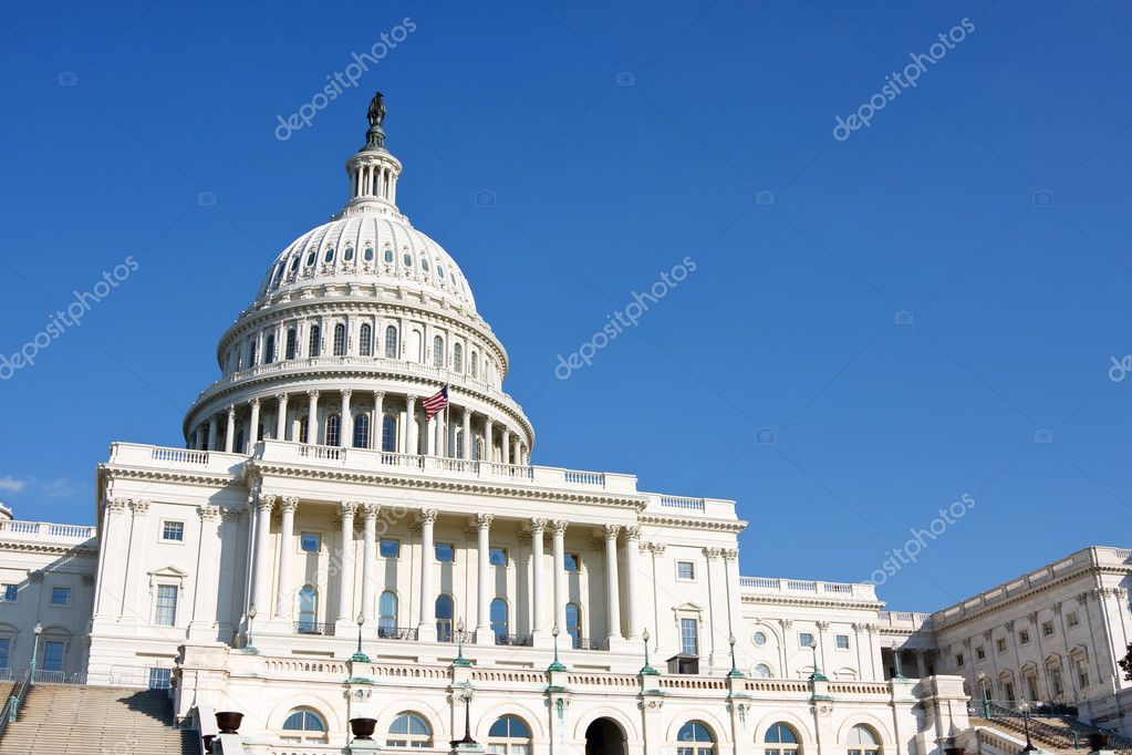 US Capitol, Washington DC — Stock Photo #6717011