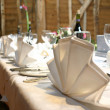 Wedding Top Table - Stock Photo