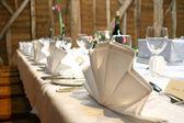 Wedding Top Table — Stock Photo