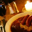 Royalty-Free Stock Photo: Bangers and mash