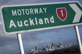 Auckland Sign — Stock Photo