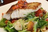 Fish Dinner — Stock Photo