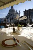 Dinner In Venice — Stock Photo