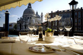 Dinner In Venice — Stock Photo