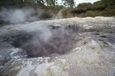 Steaming Crater — Stockfoto